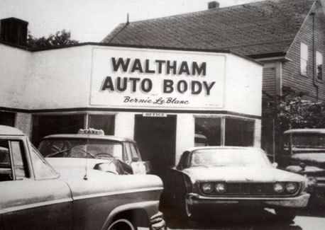 Auto Body Shop in Waltham, MA